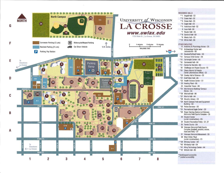 uw lacrosse campus map Dine On Campus At University Of Wisconsin La Crosse Where To Eat uw lacrosse campus map