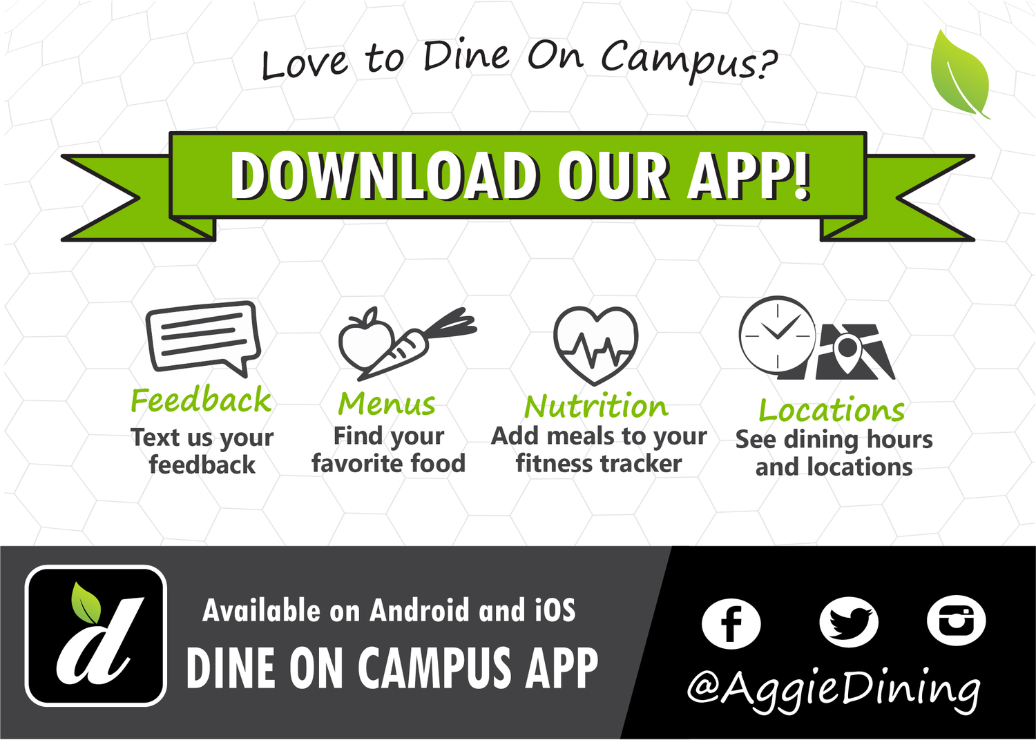 Dine On Campus at Texas A&M University || Dine on Campus App
