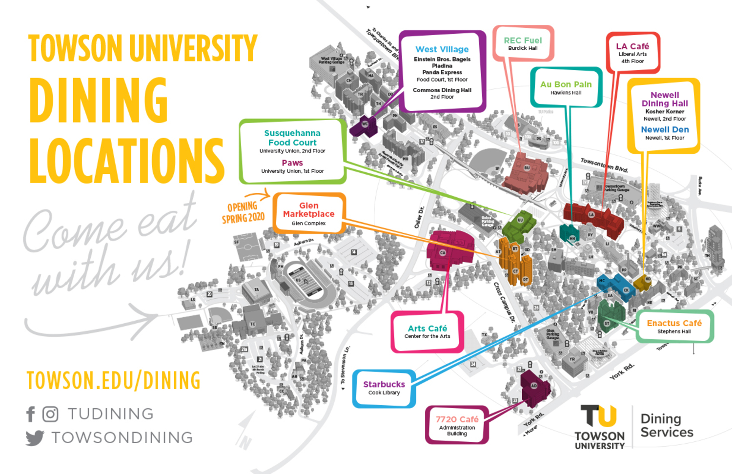 Dine On Campus At Towson University